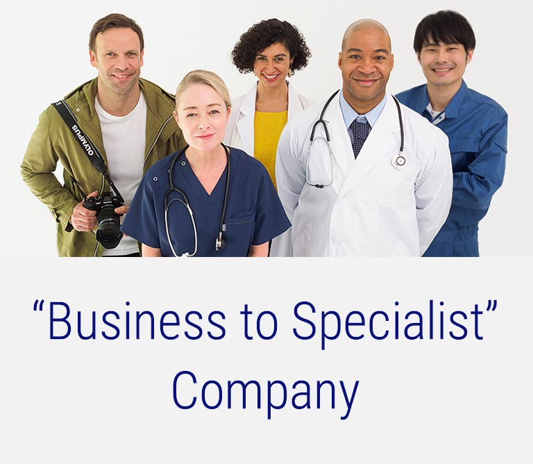 """Business to Specialist"" Company"